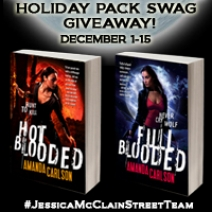 Super Giveaway: Full Blooded by Amanda Carlson + Swag