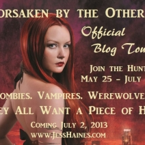 Q&A (& Giveaway): Jess Haines, author of Forsaken By the Others