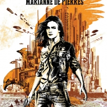 Cover Reveal: Peacemaker by Marianne de Pierres