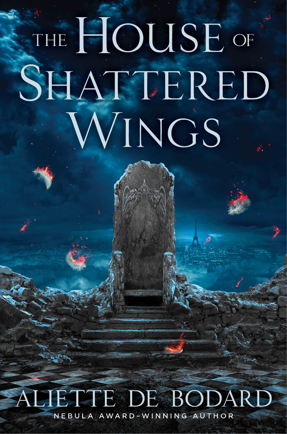 Fantasy Adventure Book Cover ~ Cover reveal the house of shattered wings by aliette de